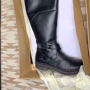 UGG W EVANNA Blk tall boots